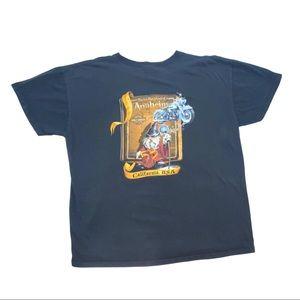 vintage harley davidson disney fantasia t shirt